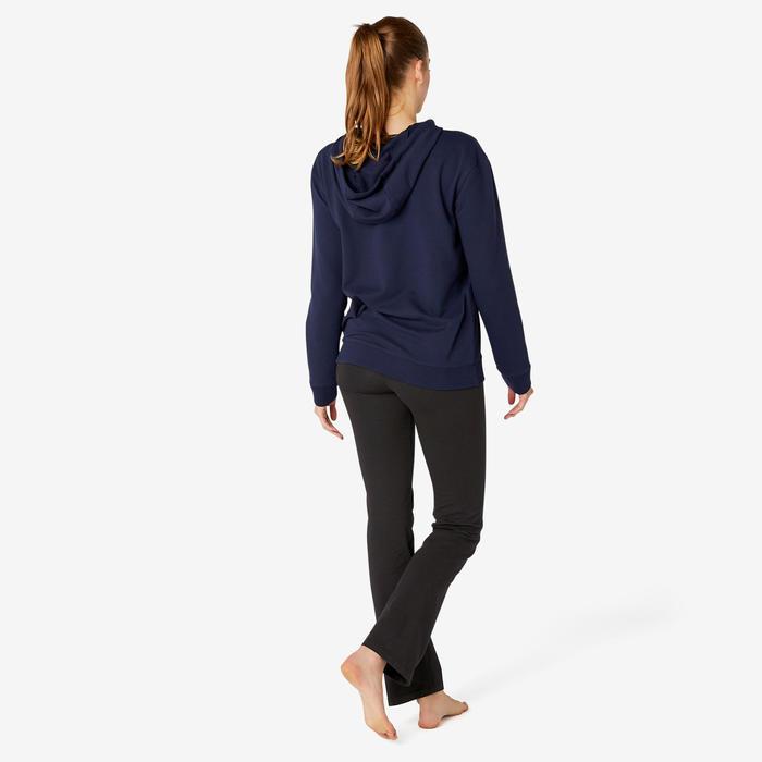 Legging de Sport Regular Fit+ 500 Femme Noir