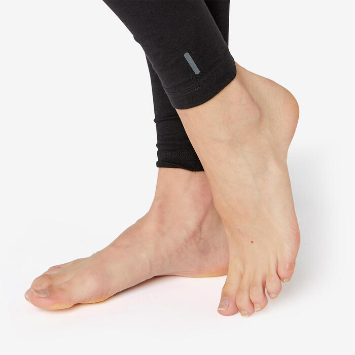 Jogginghose Fit+500 Slim Sport Pilates sanfte Gym Damen schwarz