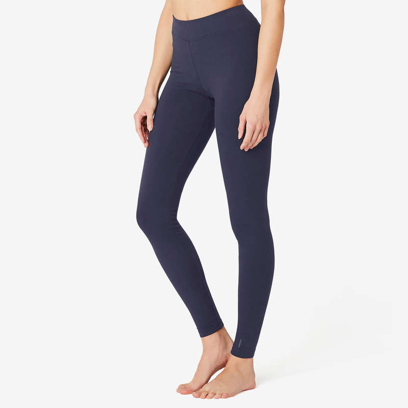 T-SHIRT, LEGGINGS, SHORT DONNA Ginnastica, Pilates - Pantaloni donna gym FIT+500 NYAMBA - Abbigliamento donna