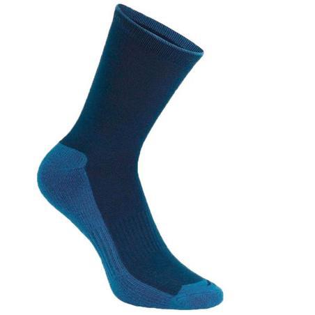 Country walking High socks X 2 pairs NH 100 - Navy
