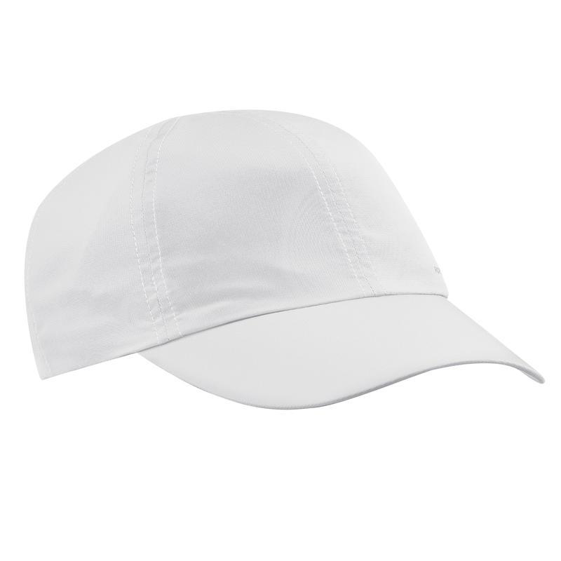 Gorra de Trekking viaje TRAVEL 100 A gris claro