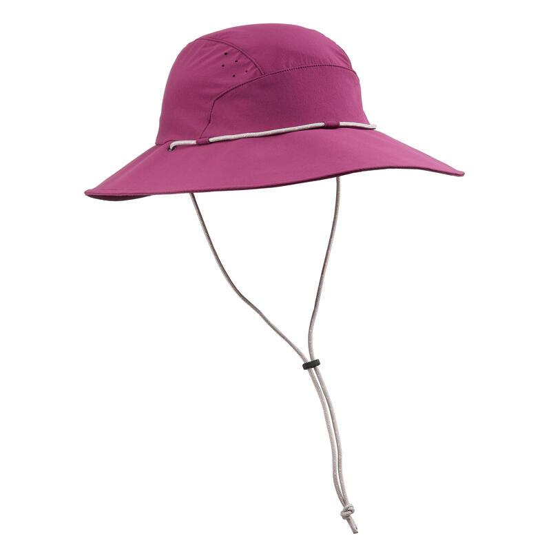 Sombrero De Trekking y Senderismo Forclaz 500 Adulto Violeta