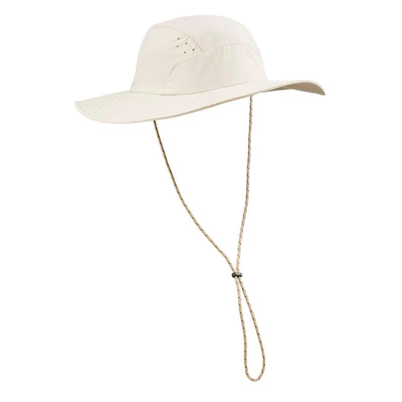 CĂCIULI DRUMEȚIE, TREKKING Drumetie, Trekking - Pălărie TREK 500  FORCLAZ - Imbracaminte