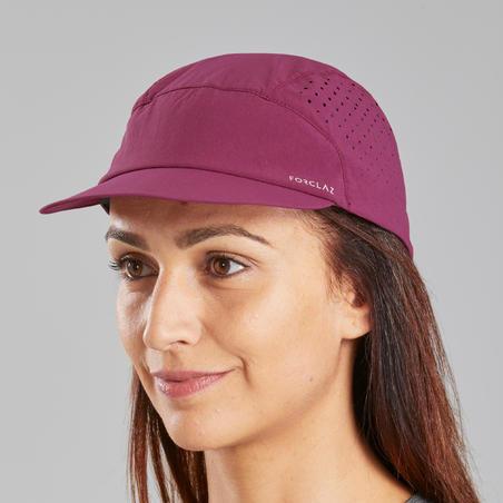 Mountain Trekking Cap, Ventilated and Ultra Compact - TREK 500 - Purple