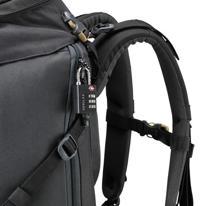 Cijferhangslot TSA backpacken zwart