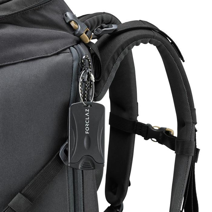 Gepäckanhänger Travel 2 Stück schwarz