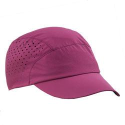 Schirmmütze ultrakompakt Trek 500 violett