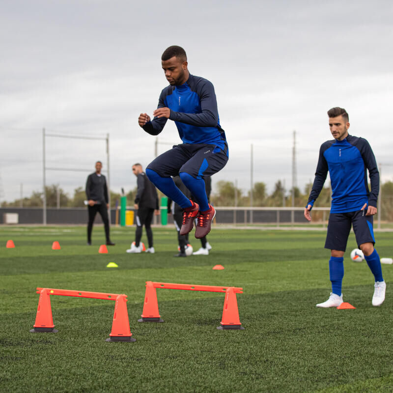 Five-minute cardio session for football