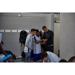 Short de football adulte 3 en 1 TRAXIUM bleu