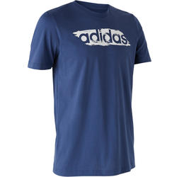 T-shirt voor heren blauw
