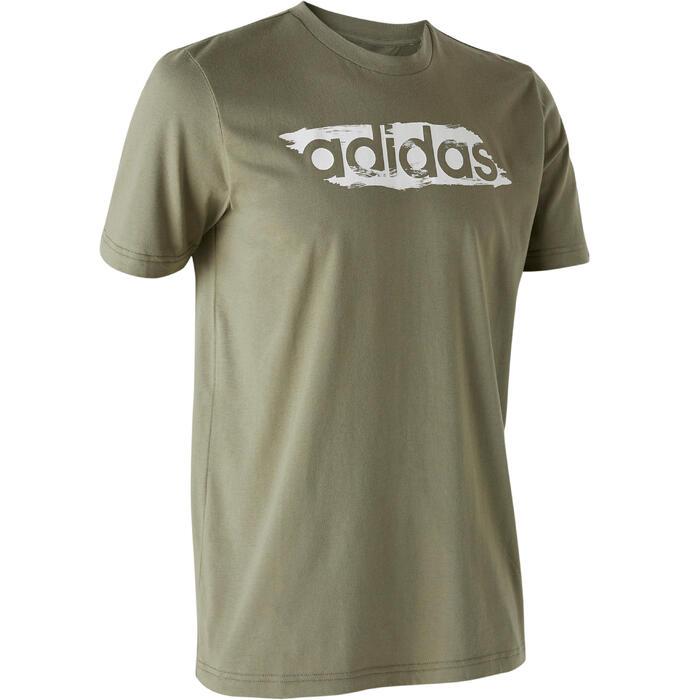 T-shirt voor heren groen