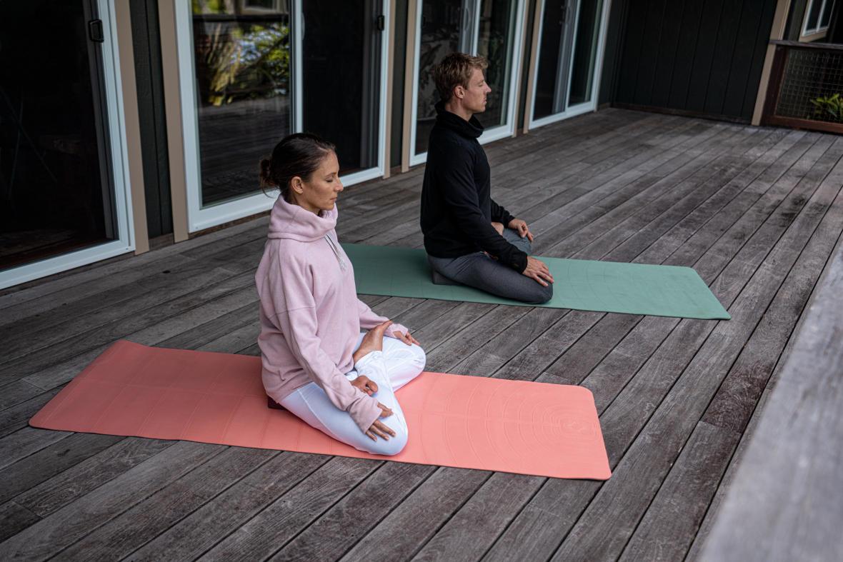 chasser le stress avec le yoga