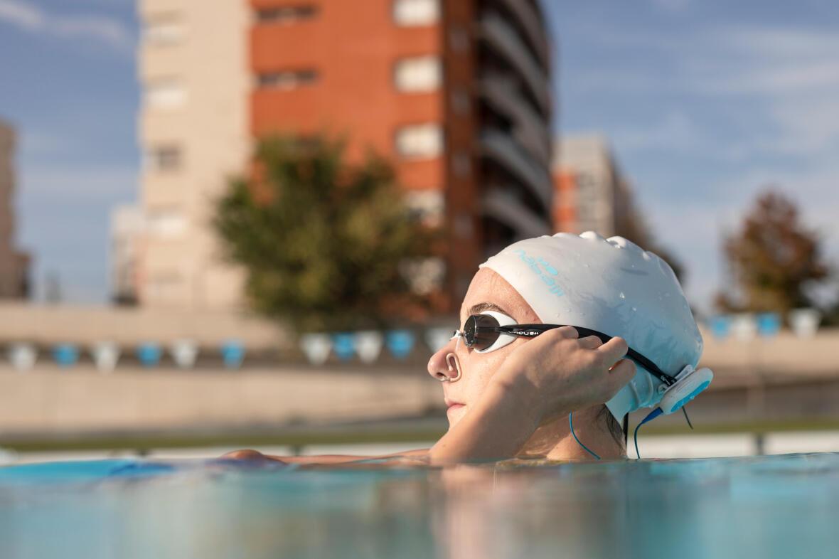 artistic swimming swim cap