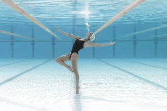 What is artistic (or synchronised) swimming?