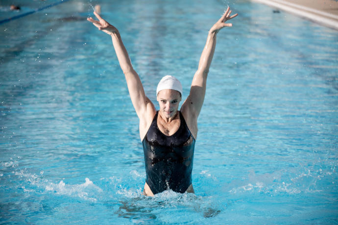 natation synchronisée Virginie Dedieu