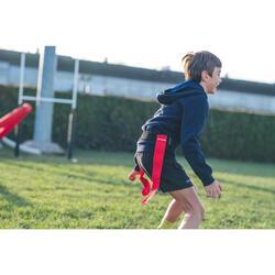 ceintures flag rugby kit R500 bleu / rouge
