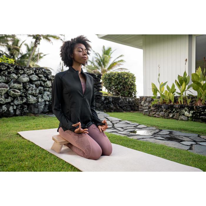Natural/Jute Rubber Yoga Mat 4 mm - Beige