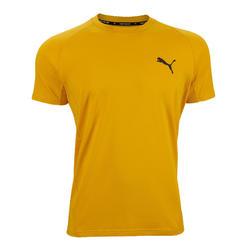 T-Shirt Puma Homme Jaune