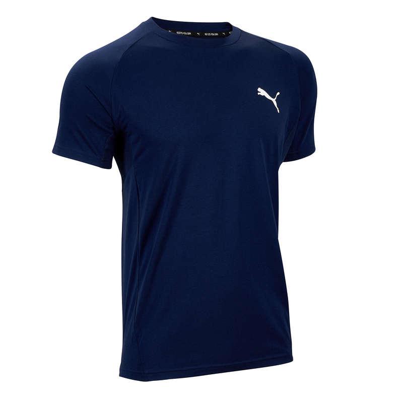 FÉRFI PÓLÓ, RÖVIDNADRÁG Fitnesz, jóga - Férfi póló Puma Active PUMA - Szabadidős fitnesz ruházat
