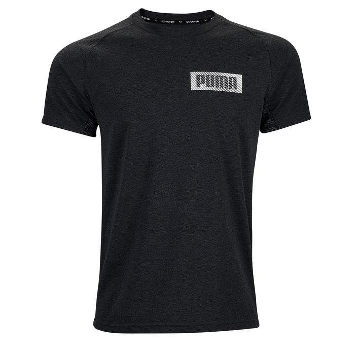 Camiseta Puma hombre gris oscuro