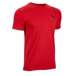 T-shirt voor heren rood