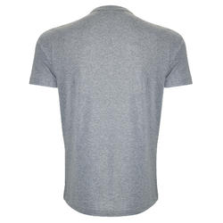 T-shirt heren grijs/print