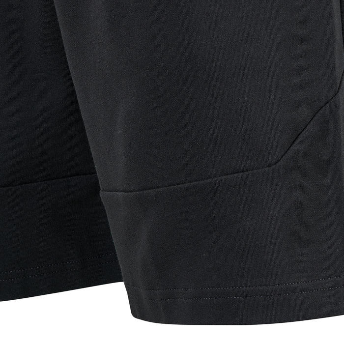 Short de sport homme Puma court en coton noir