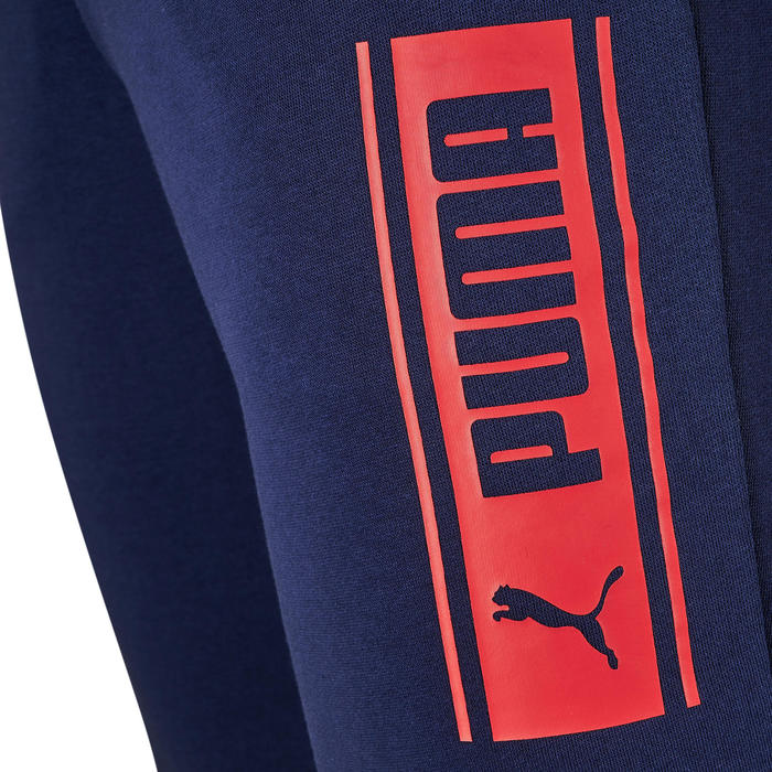 Broek Puma 500 heren marineblauw