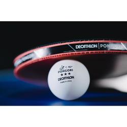 Tafeltennisballen TTB 900C 40+ 3* X4 wit