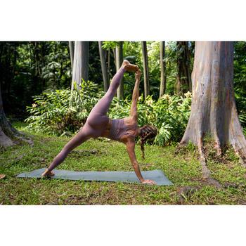 Seamless 7/8 Yoga Leggings - Burgundy