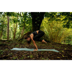 Seamless 7/8 Yoga Leggings - Black/Anthracite