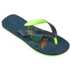 Slippers voor jongens 500 Palm
