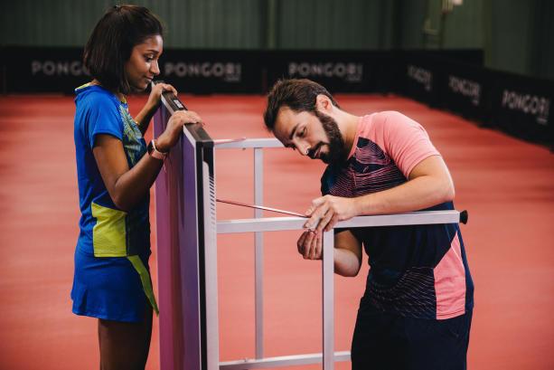 règle homme femme tennis de table ping pong
