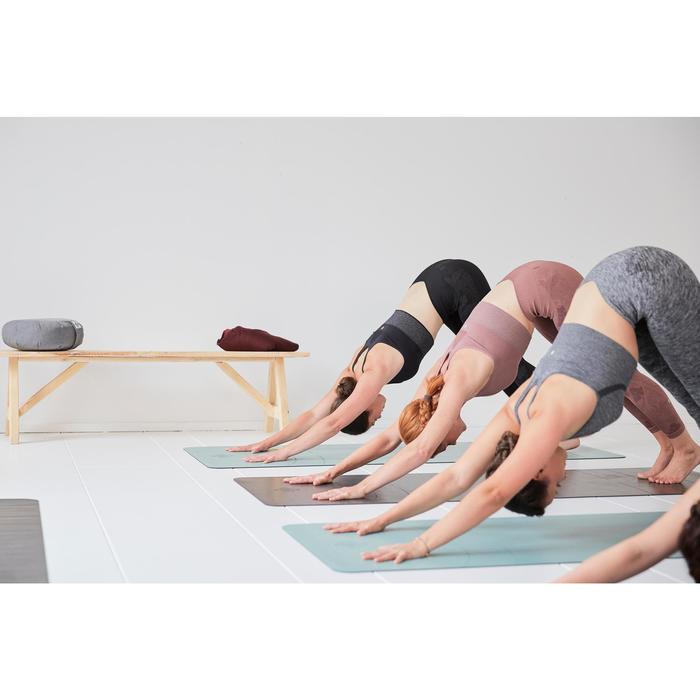 Yogamat voor dynamische yoga Grip+ 3 mm groen
