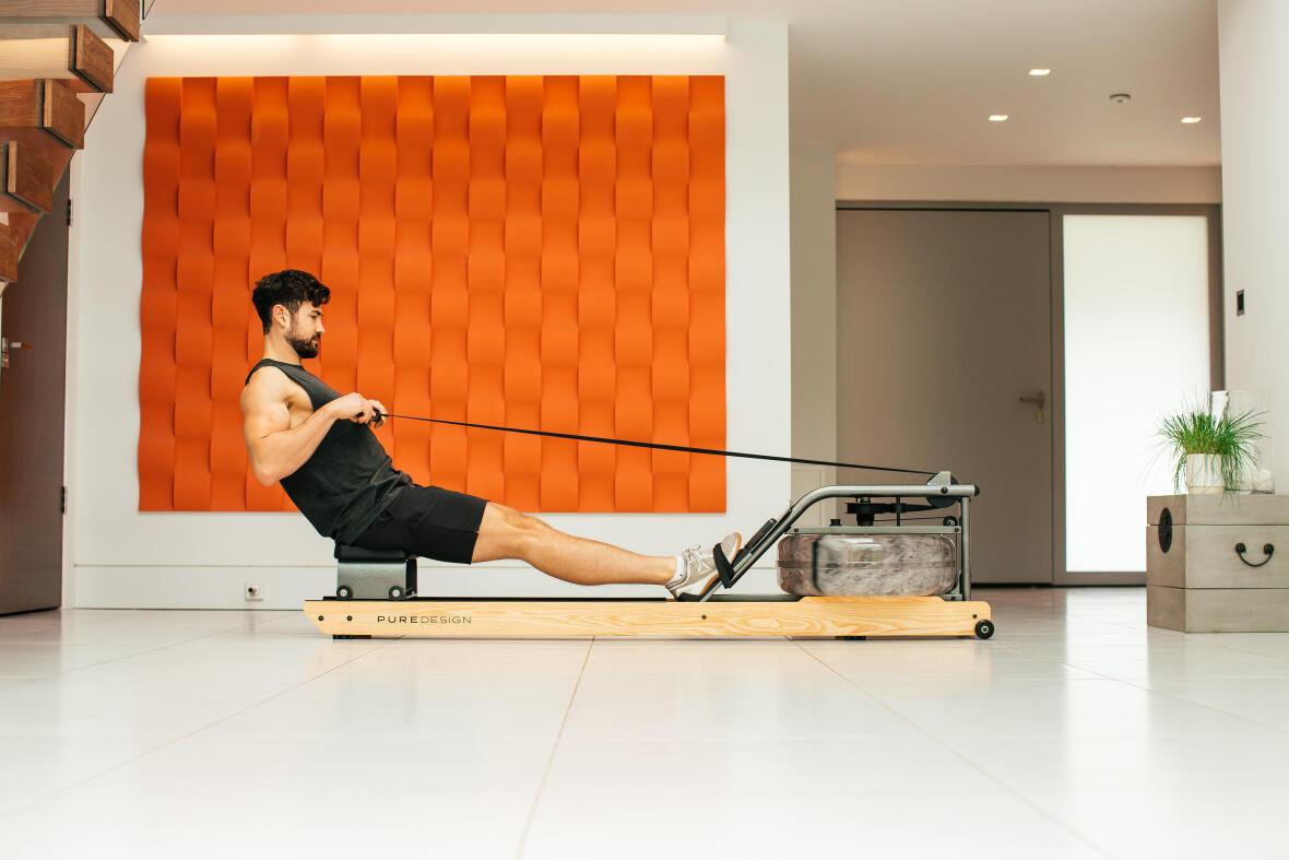 appareil de fitness rameur