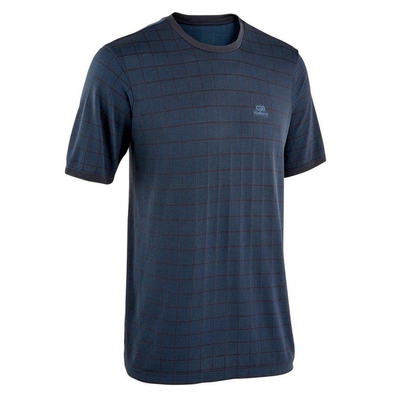 ABBIGLIAMENTO TRASPIRANTE UOMO Running, Trail, Atletica - T-shirt uomo RUN DRY + FEEL KALENJI - Running, Trail, Atletica
