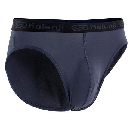 MEN'S BREATHABLE RUNNING BRIEFS - BIRU TUA