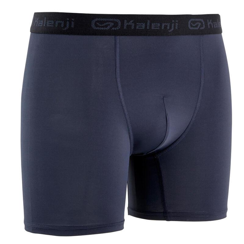 Pánské běžecké prodyšné boxerky šedé