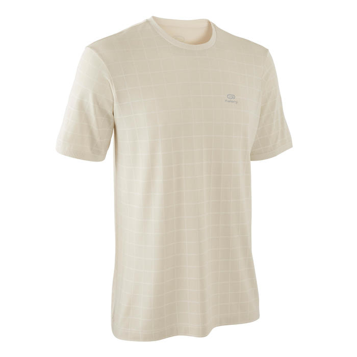 T-shirt coupe large Run Dry + Feel Beige