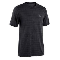 T-shirt coupe large Run Dry + Feel Noir