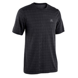 TEE SHIRT RUNNING RUN DRY + FEEL NOIR HOMME