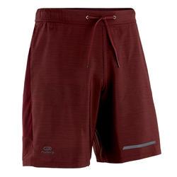男款跑步短褲Run Dry+ - 栗紅色