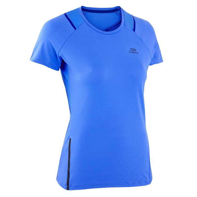 KADIN DÜZENLİ KOŞU SICAK HAVA GİYİM Koşu - RUN DRY + TİŞÖRT KALENJI - Kadın Koşu Kıyafetleri