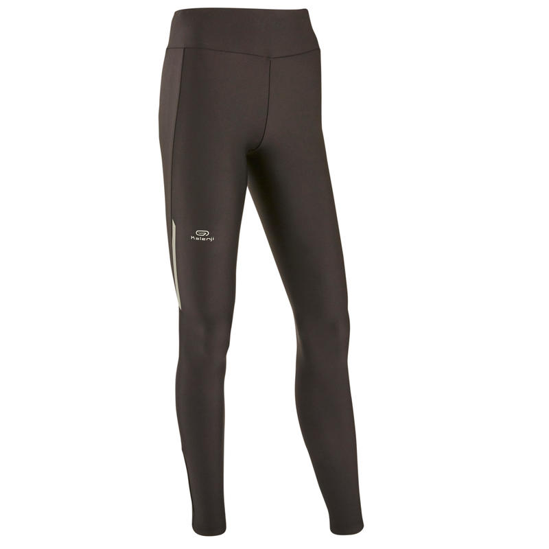 RUN DRY WOMEN'S RUNNING TIGHTS - BLACK