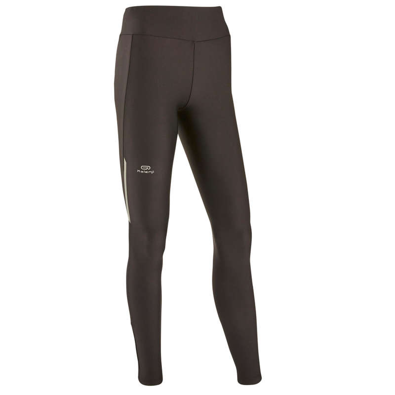 OCCAS WOMAN JOG WARM/MILD WHTR CLOTHES Clothing - RUN DRY TIGHTS  KALENJI - Bottoms