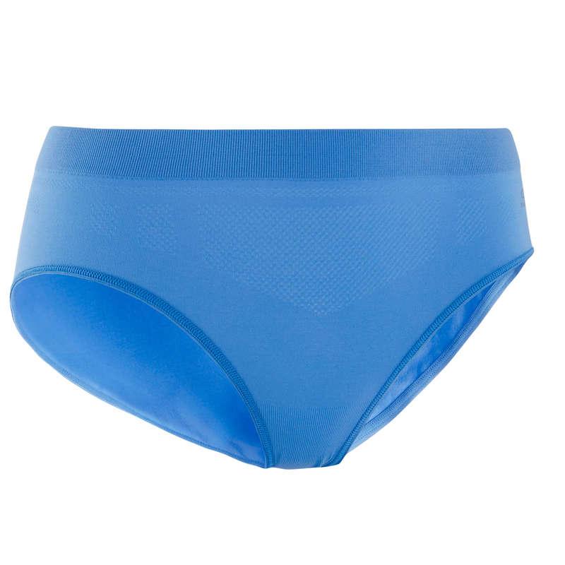 INTIMO RUNNING DONNA Running, Trail, Atletica - Slip running donna blu KALENJI - Abbigliamento Running