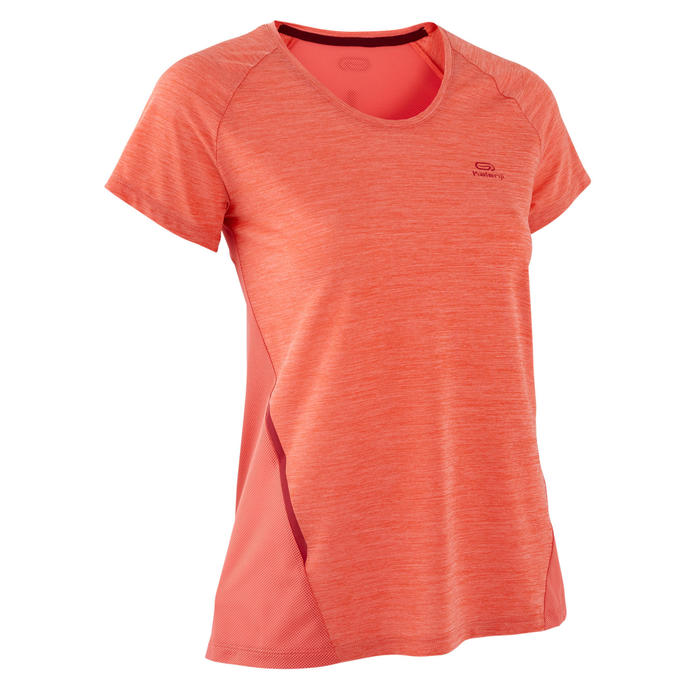 T-shirt voor dames Run Light oranje