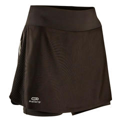 RUN DRY + WOMEN'S SKIRT BUILT-IN TIGHT SHORTS