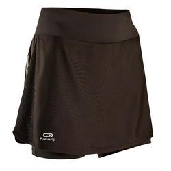 女款跑步短裙 搭配內襯緊身短褲RUN DRY +