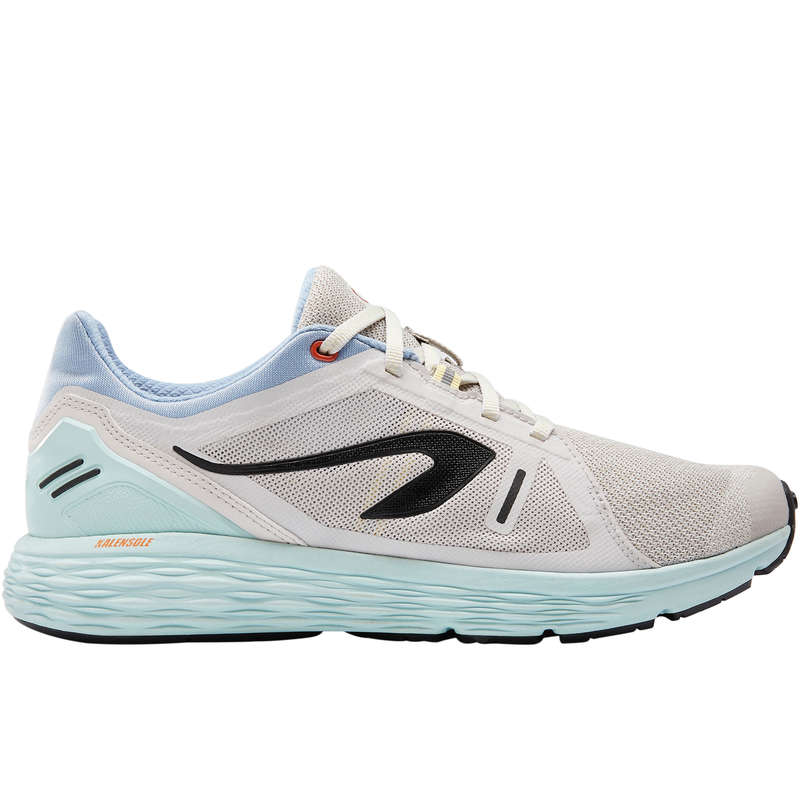 SCARPE UOMO RUNNING REGOLARE Running, Trail, Atletica - Scarpe uomo RUN COMFORT beige KALENJI - Running, Trail, Atletica